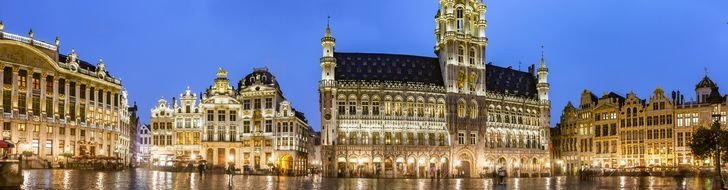 Brussels by night