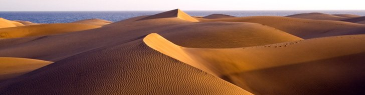 Gran Canaria (Spain), the dunes of Maspalomas